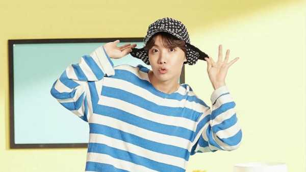 J-Hope BTS Viralkan Tantangan Tari Chicken Soup Noddle