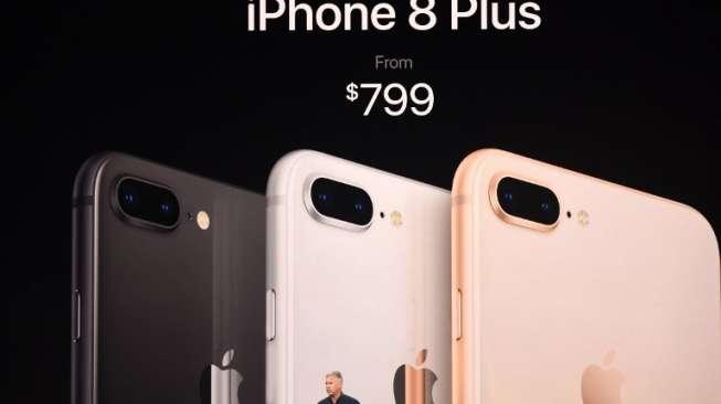 Selain iPhone X, Apple Luncurkan iPhone 8 dan iPhone 8 Plus