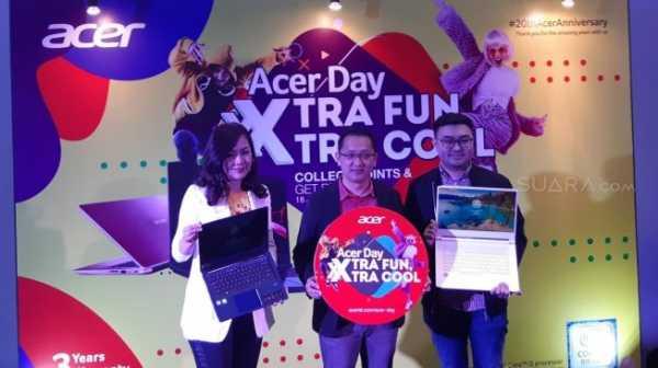 Beli Laptop di Acer Day 2019, Bisa Liburan Gratis ke Korea