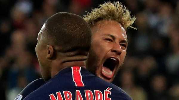 Mbappe Usir Neymar di Perayaan Juara PSG