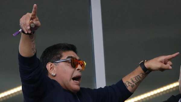 Maradona Imbau agar Film Biopiknya Tak Ditonton