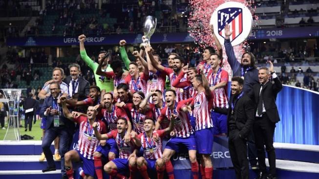 Taklukkan Real Madrid, Atletico Madrid Juara Piala Super Eropa