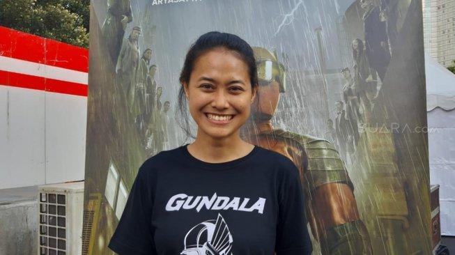 Putri Ayudya Penasaran Lihat Hasil Aktingnya di Film Gundala