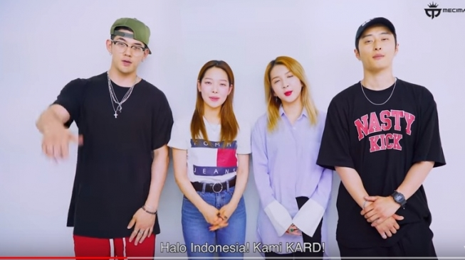 Grup KPop KARD Tak Sabar Bertemu Fans Indonesia