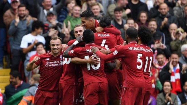 Liverpool Ciptakan Rekor Setelah Satu Abad Lebih