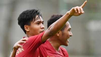 Piala AFF: Timnas Indonesia U-18 Hajar Timor Leste 4-0