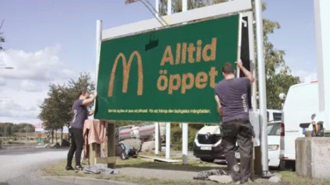 Wow, McDonalds Ciptakan Papan Iklan Sekaligus Hotel untuk Lebah
