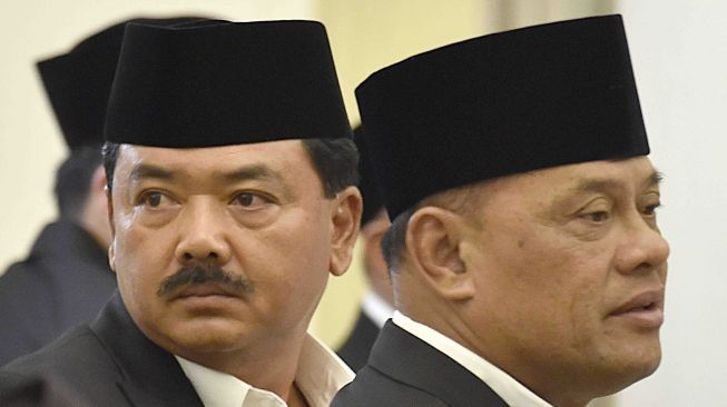 Di Balik Kumis Tebal Panglima Baru TNI