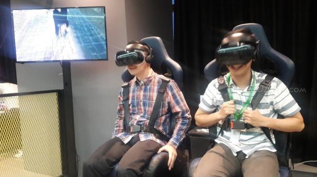 Rasakan Sensasi Berbeda Main Game VR di Tempat Ini