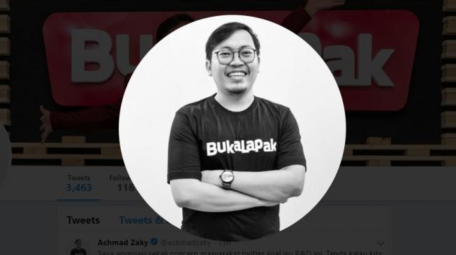 Usai Ramai di Twitter, Pagi Ini CEO Bukalapak Siap Ketemu Presiden Jokowi