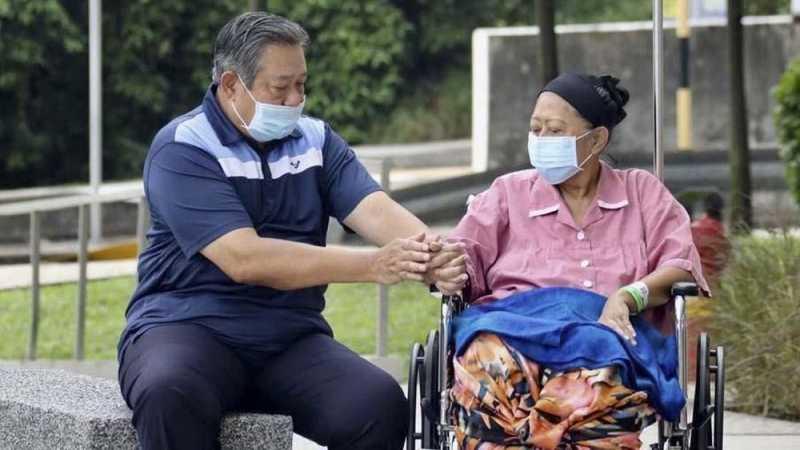 SBY: Ibu Ani Berjuang ke Batas yang Bisa Dilakukan Manusia