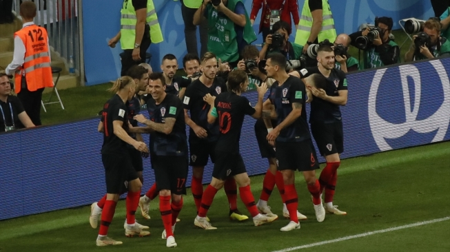 Jelang Final Piala Dunia, Kroasia Didenda oleh FIFA