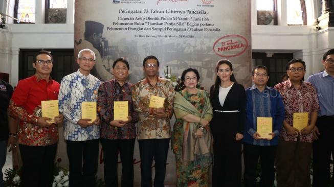Pos Indonesia Luncurkan Prangko Sambut Hari Kelahiran Pancasila