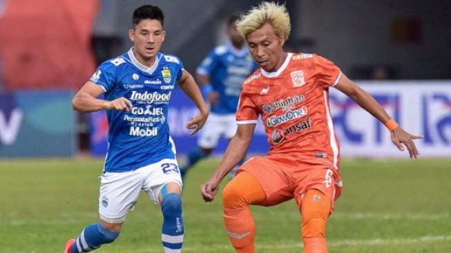Piala Indonesia: Borneo FC Tundukkan Persib 2-1 pada Leg I Perempatfinal