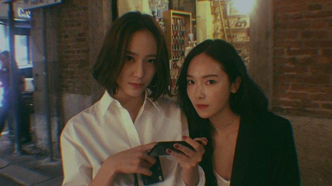 Sibling Goals, Ini Gaya Kompak Krystal dan Jessica Jung