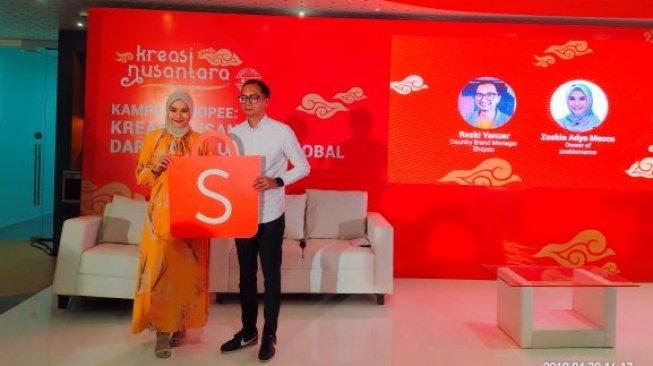 Tips Jualan Online Dalam dan Luar Negeri Ala Zaskia Adya Mecca