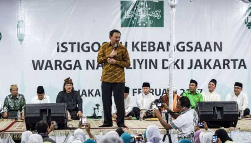 Ahok Minta Maaf di Media pada Maruf Amin