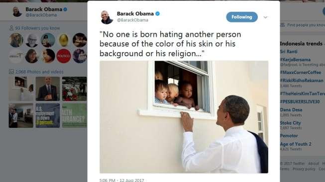 Kicauan Toleransi yang Jadi Tweet Terpopuler di Dunia