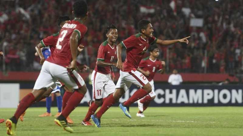 Hasil gambar untuk timnas indonesia u16 vs iran