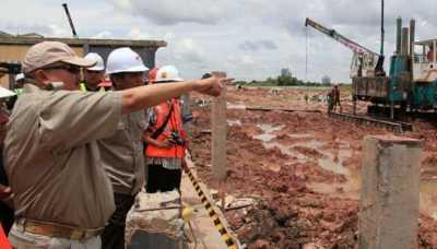 Pembangunan LRT Palembang Mencapai 40 Persen