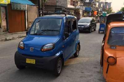 Qute, Bajaj Roda 4 Pengganti Bemo di Jakarta
