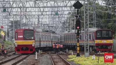 KRL Bekasi Jalan Normal, Listrik Pamulang Masih Byar Pet
