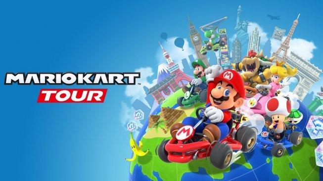 Diunduh 10 Juta Kali dalam Sehari, ini Fakta Menarik Mario Kart Tour Android