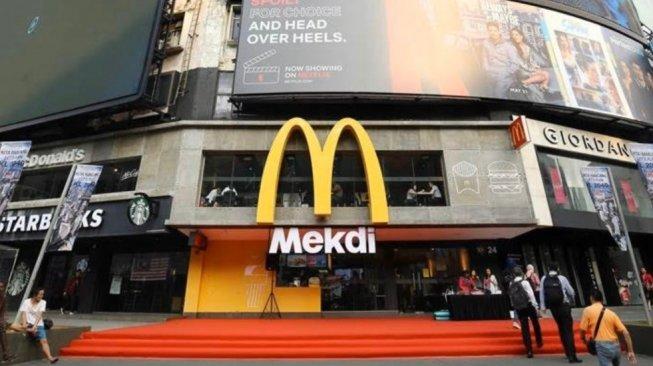 Kearifan Lokal, Nama McDonalds Diganti