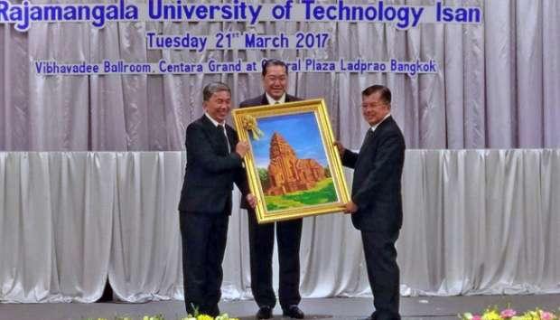 Universitas Thailand Beri Julukan Peacemaker Kepada JK