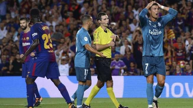 Kurang Ajar pada Wasit, Ronaldo Dihukum RFEF