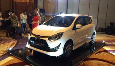 Auto2000 Luncurkan Varian Baru New Agya di Balikpapan