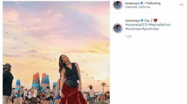 Tas Luna Maya di Coachella, Harganya Bikin Spontan Bilang Wah Gila