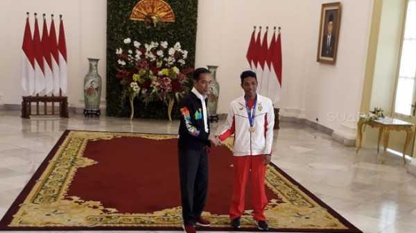 Jokowi Undang Lalu Muhammad Zohri di Istana Bogor
