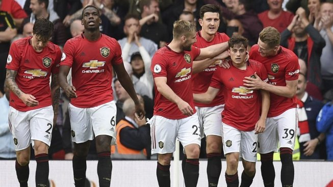 Manchester United Kubur Chelsea di Old Trafford