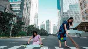 Jakarta Sepi Jadi Tempat Instagramable, Ini Tingkah Unik Anak Milenial