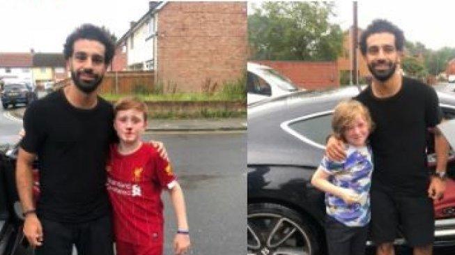 Fan Cilik Liverpool Rela Berdarah-darah demi Mohamed Salah