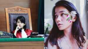 Fotonya Viral, Hakim Cantik Leanna Leonardo Disanjung Bude Sumiyati