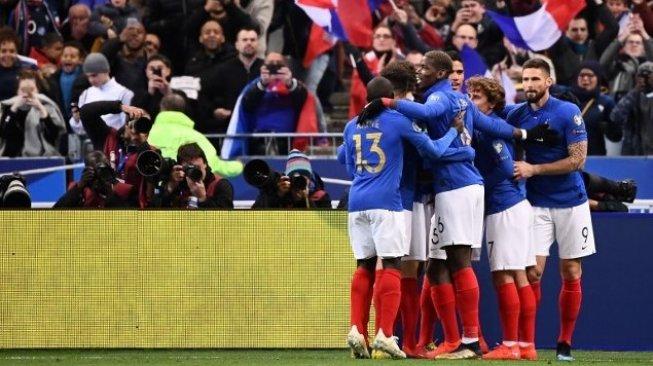 Kualifikasi Piala Eropa 2020: Prancis Sikat Albania 4-1