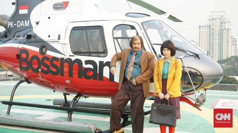 Reza Rahadian Didandani Sekelas Hollywood di My Stupid Boss 2