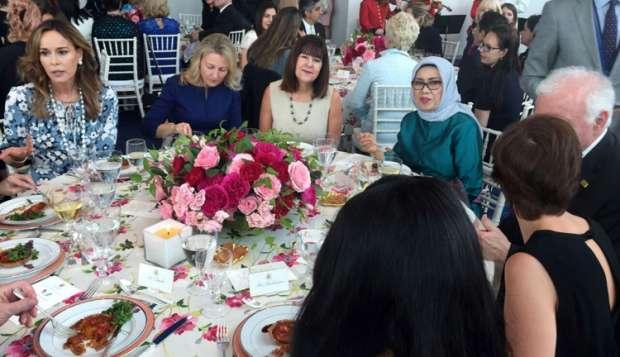 Mufidah Jusuf Kalla Diajak Melania Trump Makan Siang Bersama