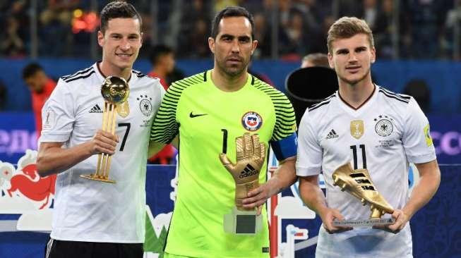 Jerman Dominasi Penghargaan Piala Konfederasi 2017