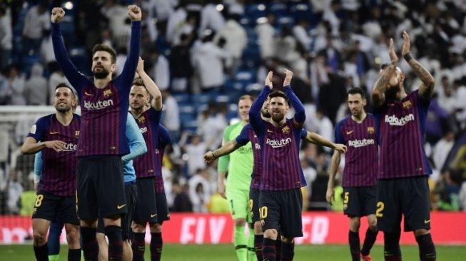 Permalukan Real Madrid, Barcelona Lolos ke Final Copa del Rey