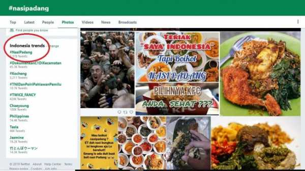 Rumor Bakal Diboikot, Nasi Padang Malah Meroket di Twitter