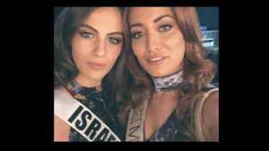 Ademm.. Miss Israel dan Miss Iraq Berbagi Pesan di Instagram