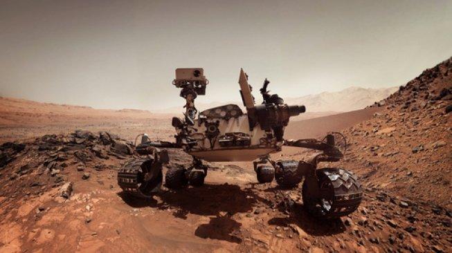Robot NASA ini Temukan Oasis Kuno di Mars, Tanda Kehidupan?