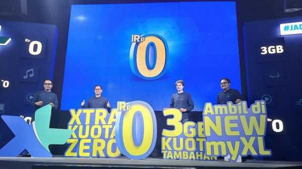 XL Xtra Kuota Zero Diluncurkan, Tawarkan Kuota Internet Gratis