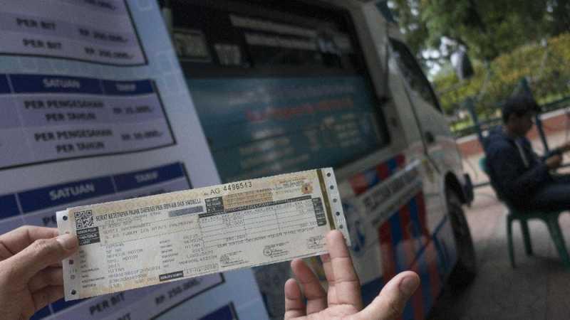 Bayar Pajak Kendaraan Bisa di Minimarket dan Toko Online