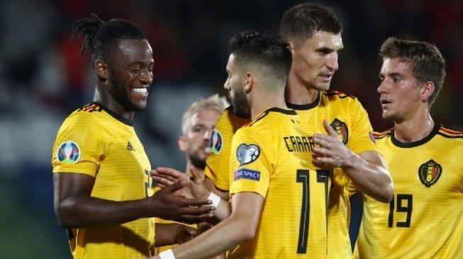 Belgia Menang Telak, Berikut Hasil Kualifikasi Piala Eropa 2020