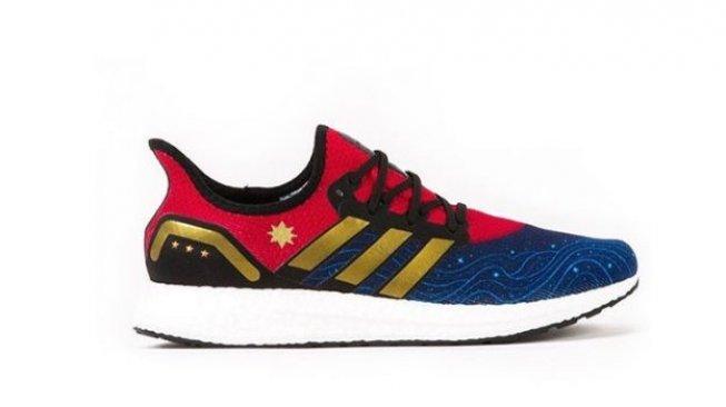 Adidas Rilis Sneakers Captain Marvel, Kamu Mau Punya?