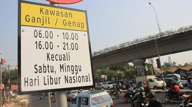 BJ Habibie Wafat, 3 Ruas Jalan Ganjil Genap di Jakarta Dihentikan Sementara